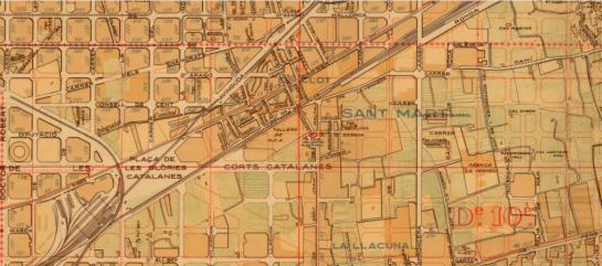 mapa clot
